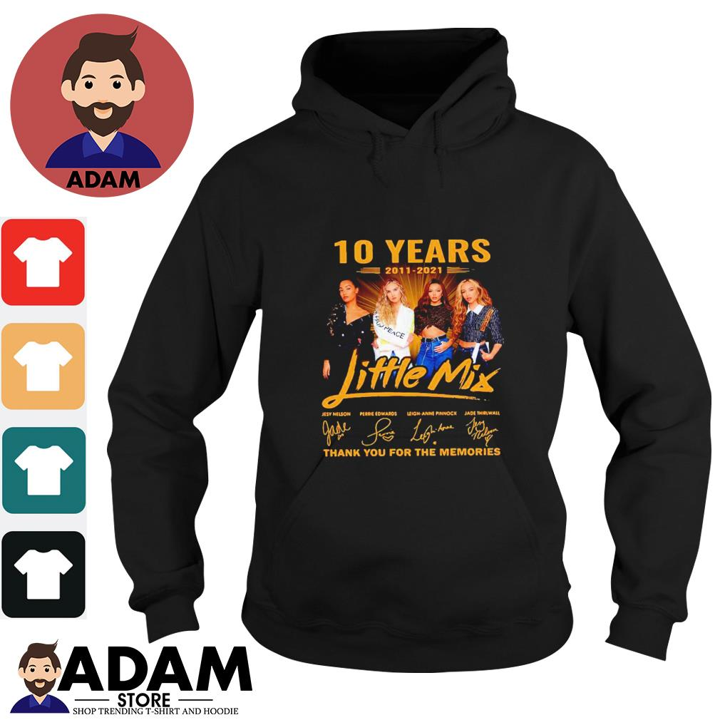 10 Years 2011-2021 Little Mix thank you for the memories Hoodie