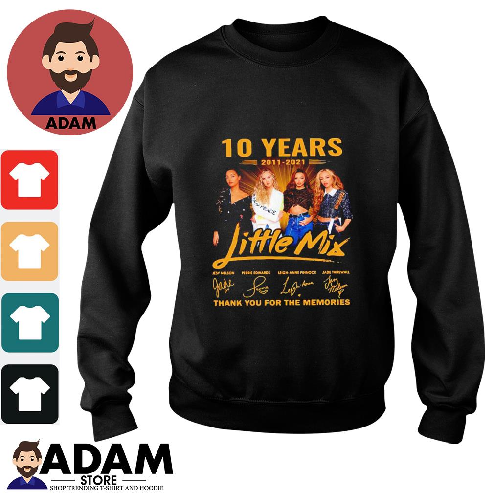 10 Years 2011-2021 Little Mix thank you for the memories Sweater