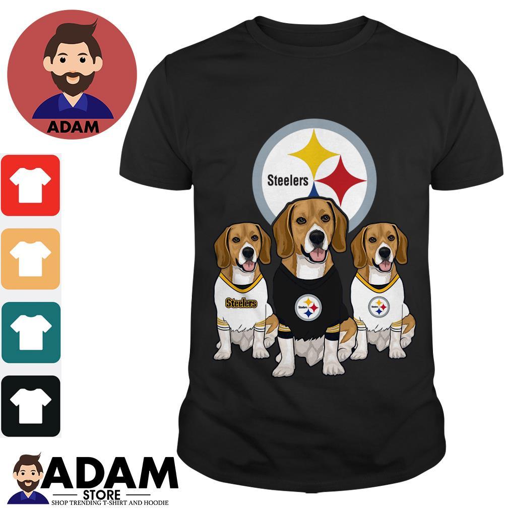 Beagle Pittsburgh Steelers shirt