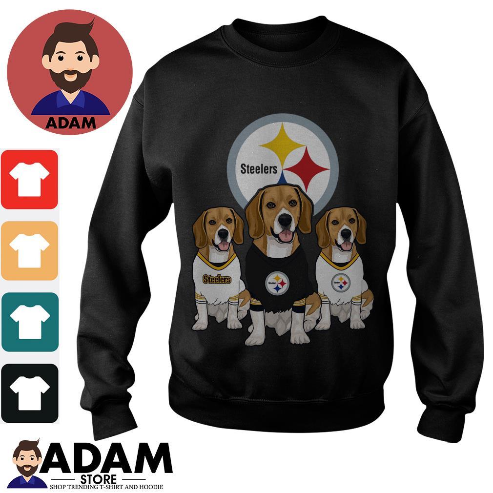 Beagle Pittsburgh Steelers Sweater