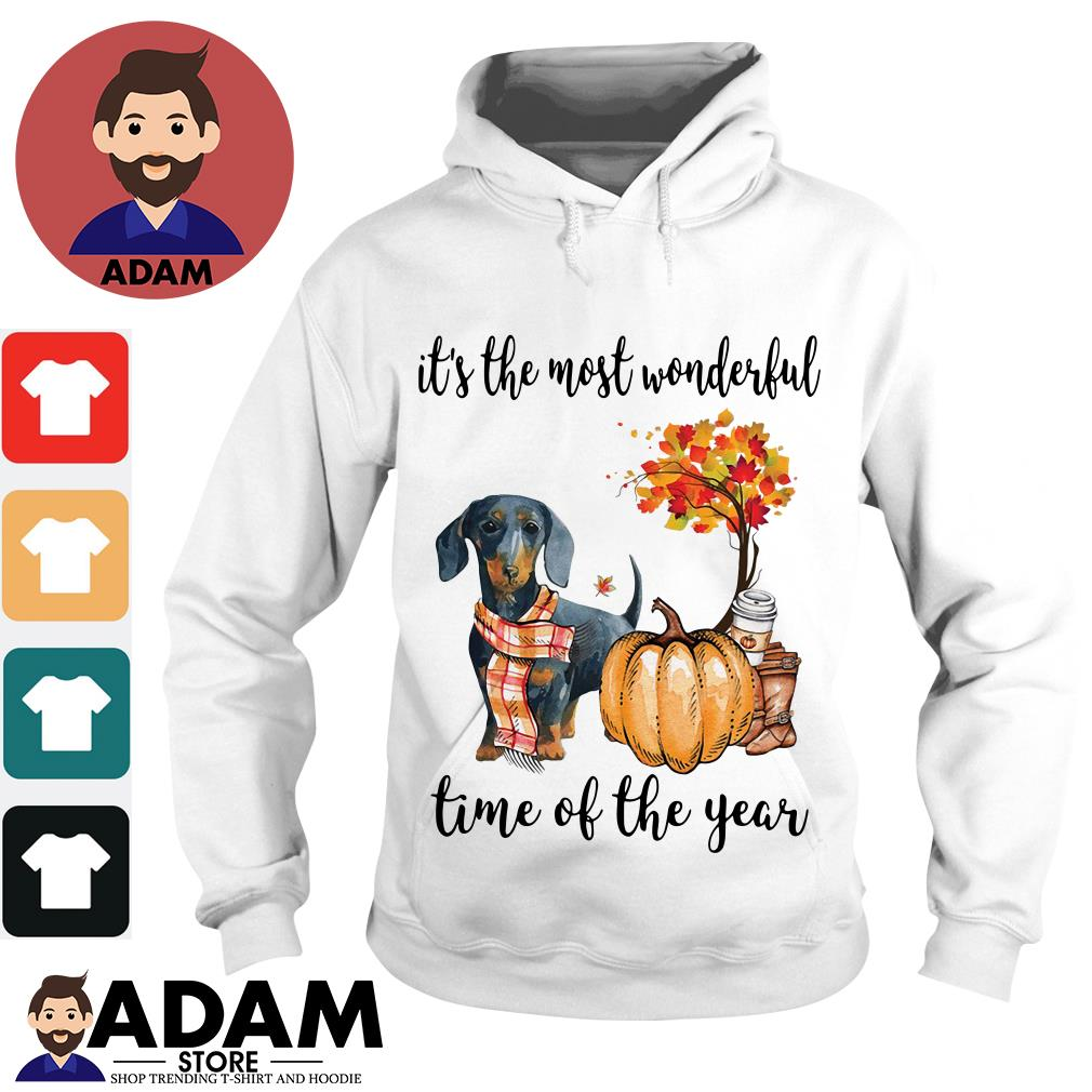 Dachshund it's the most wonderful time of the year Hoodie