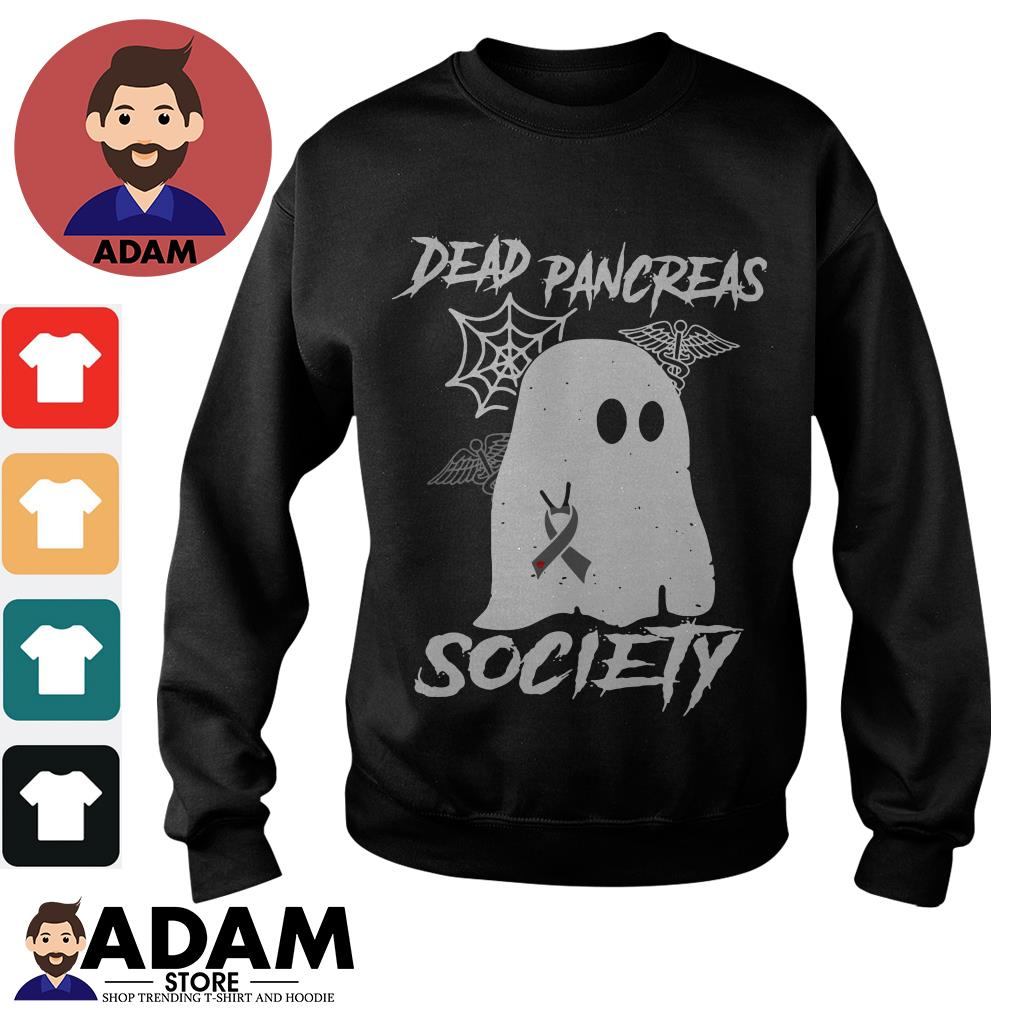 Ghost Breast Cancer dead pancreas society Sweater