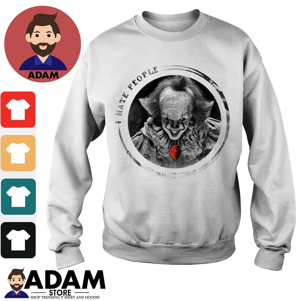 Pennywise I hate people Sweater