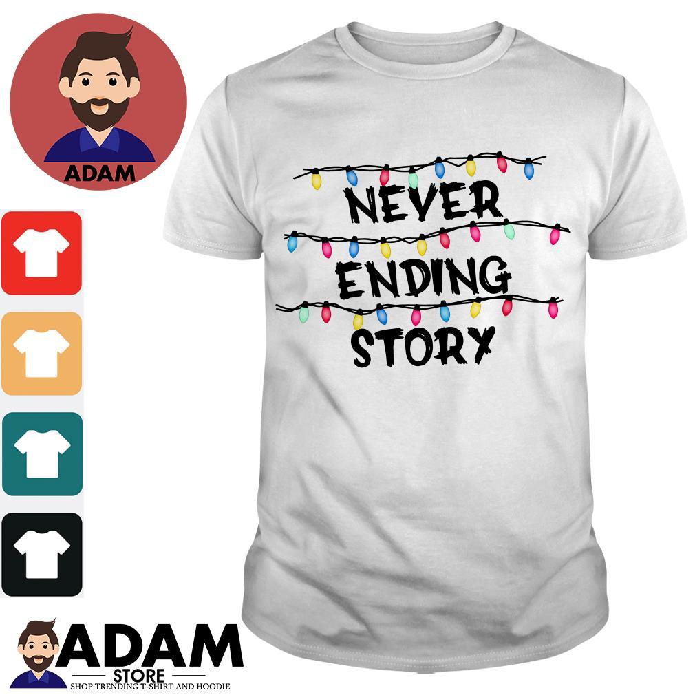 Stranger Things never ending story shirt