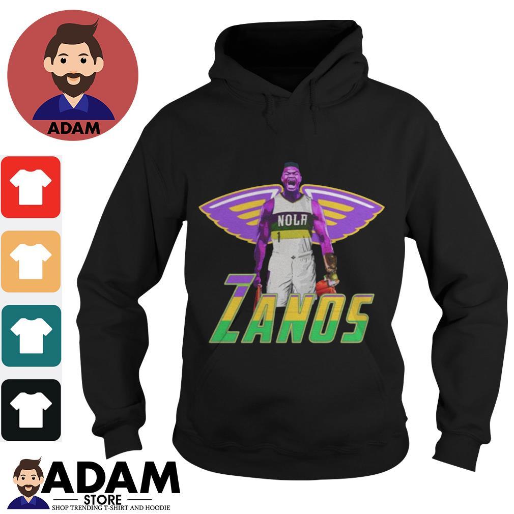 Zanos Nola New Orleans Pelicans Shirt Hoodie Sweater