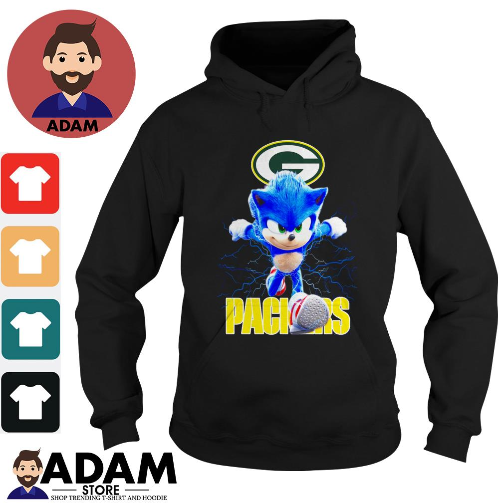 Sonic The Hedgehog Green Bay Packers Shirt Hoodie Sweater