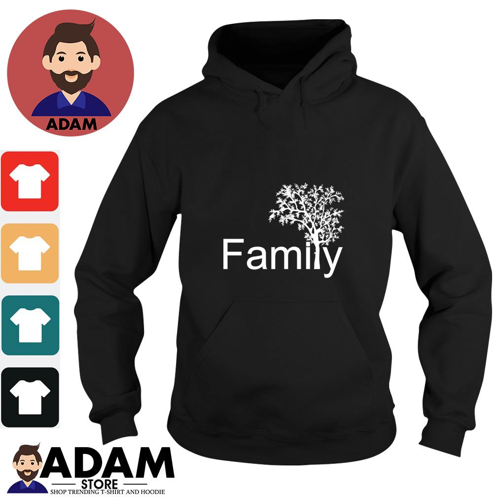 Family tree genealogy s hoodie