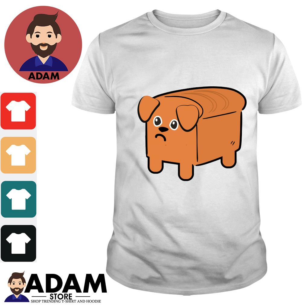 Milk bread dog cute shirt