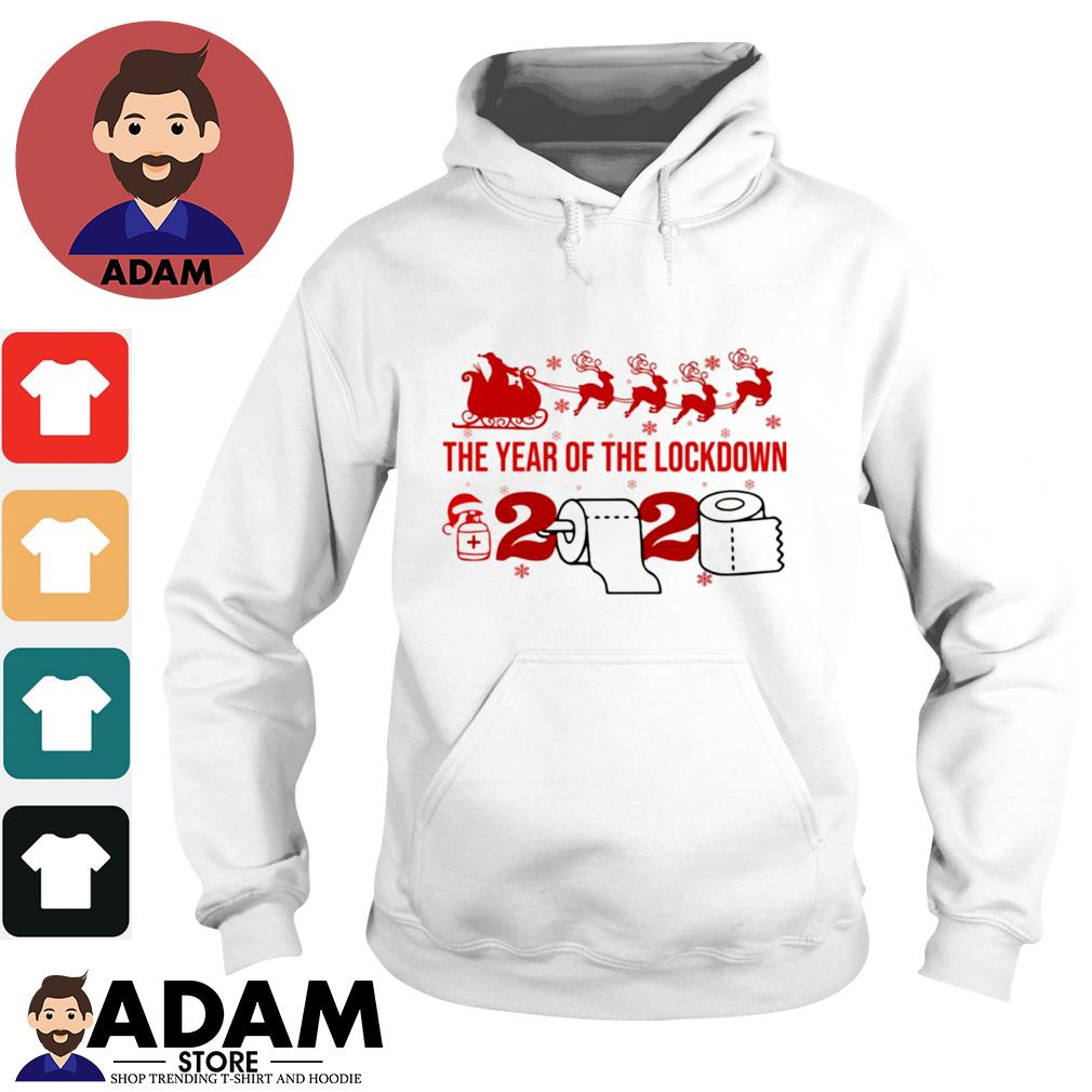 2020 Toilet paper the year of the lockdown 2020 Christmas s hoodie