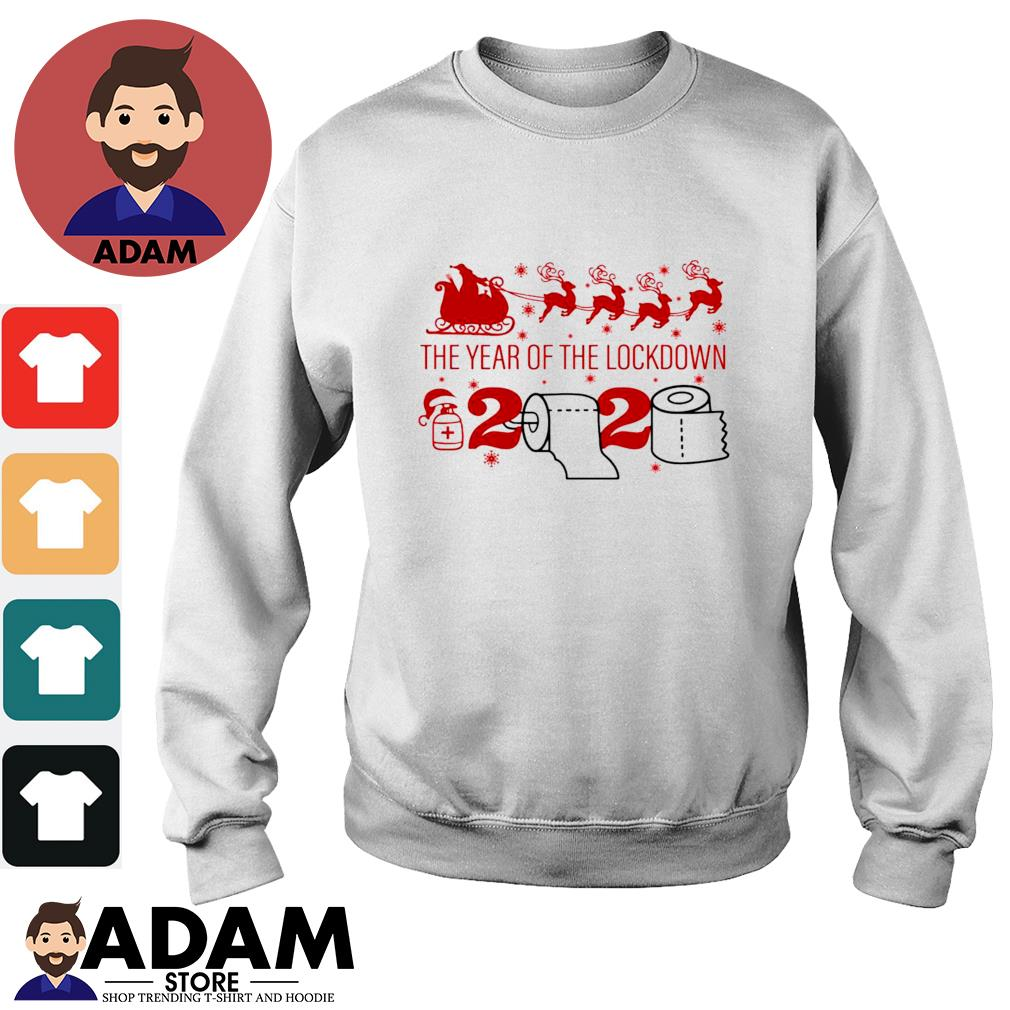 2020 Toilet paper the year of the lockdown Christmas s sweater