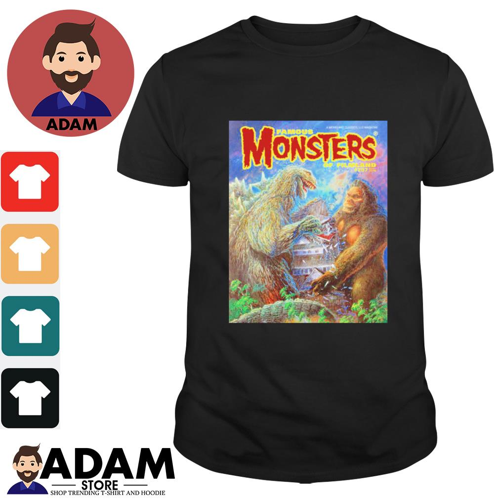 Godzilla vs King Kong famous monsters of filmland shirt